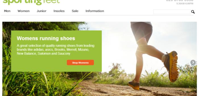 Sporting Feet